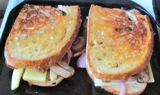 Not Your Average Grilled Cheese Sandwich