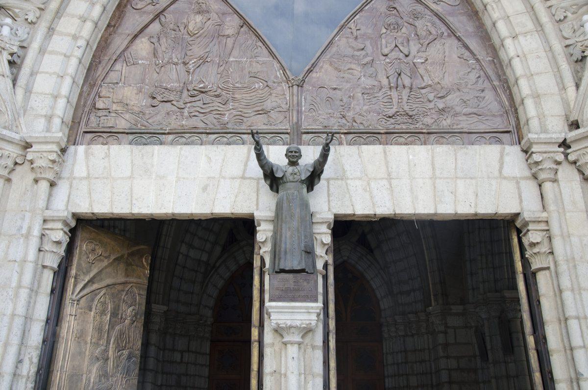Pope John Paul II blessed the Basilica in 1985 | ©Angela Drake