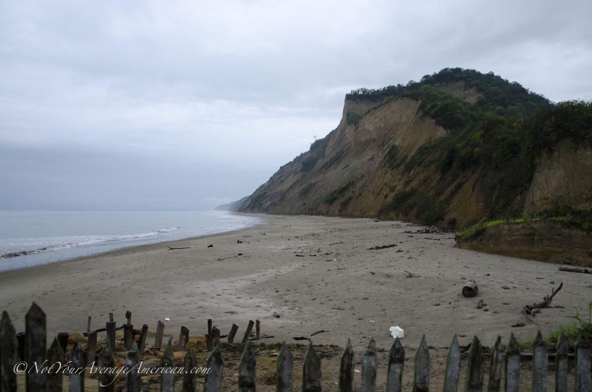 View of the Beach, Chirije Lodge, Manabi, Ecuador