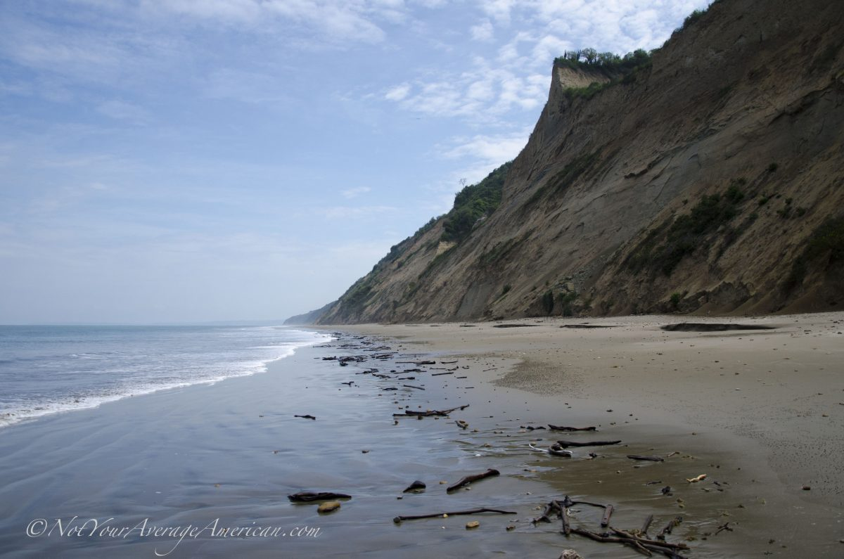 A Beautiful Beach in Manabi, Ecuador