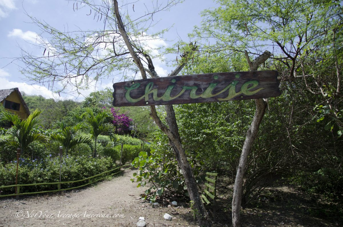 Welcome to Chirije!, Chirije Lodge, Manabi, Ecuador