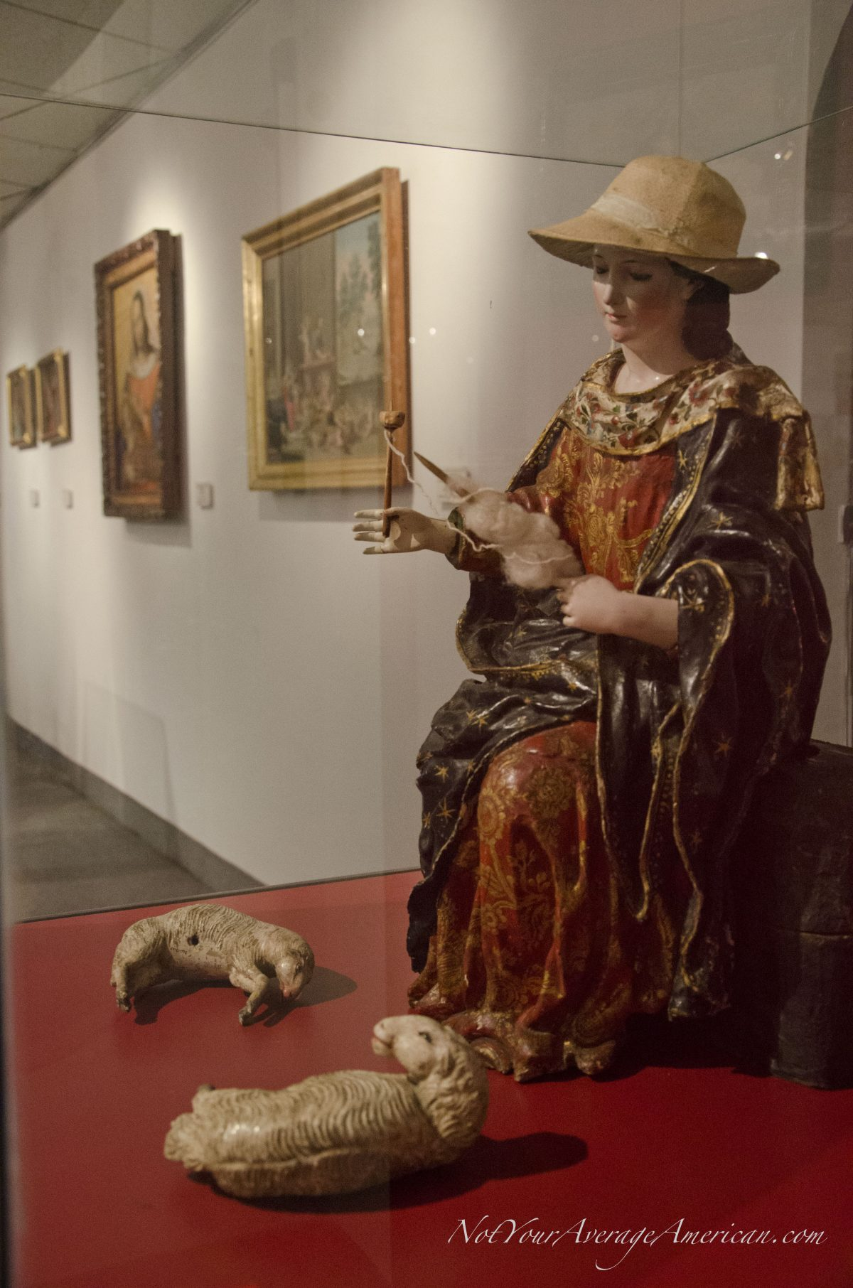 Spanish Colonial Art; Museo Nacional, Casa de la Cultura, Quito, Ecuador | © Angela Drake
