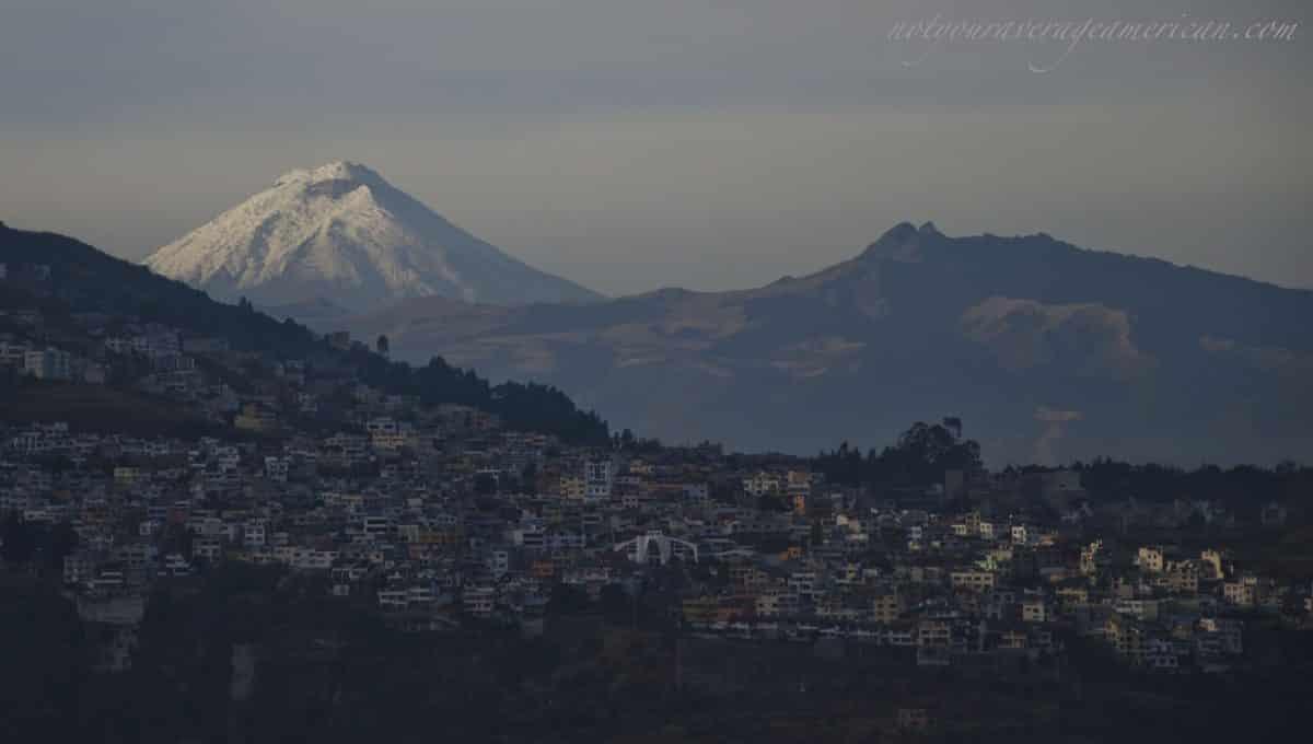 Dusk in Quito