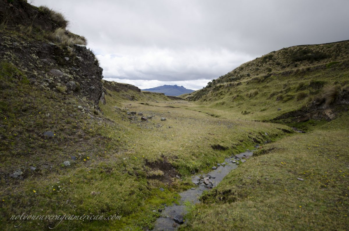 Ancient River Bed, Pucara Salitre, Cotopaxi National Park, Ecuador