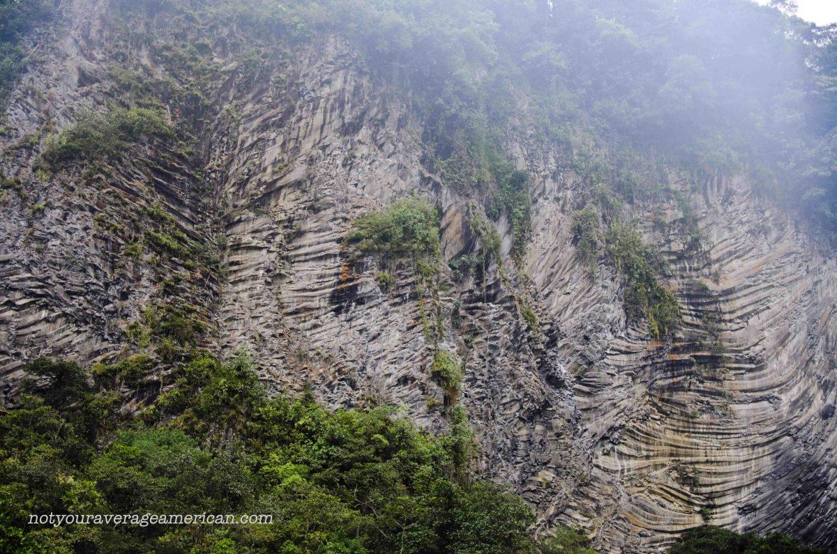 The Mountain Wall, The Pailón del Diablo, Baños, Ecuador