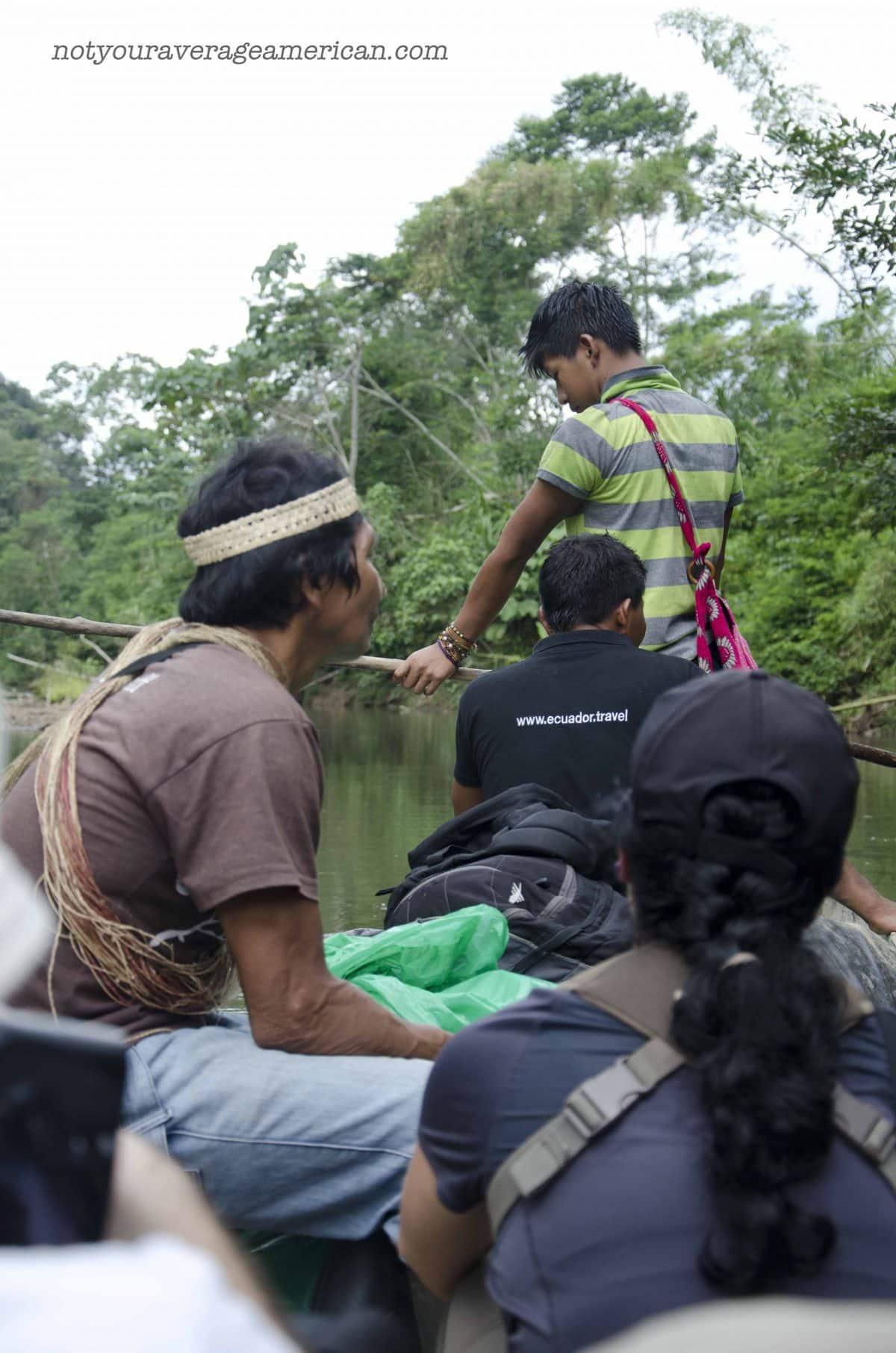 The Team, Huaorani Lodge