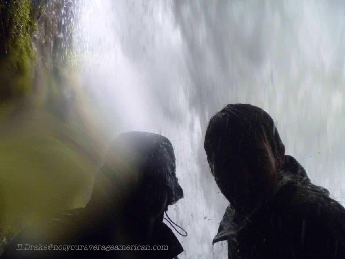 Use a waterproof camera, The Pailón del Diablo, Baños, Ecuador