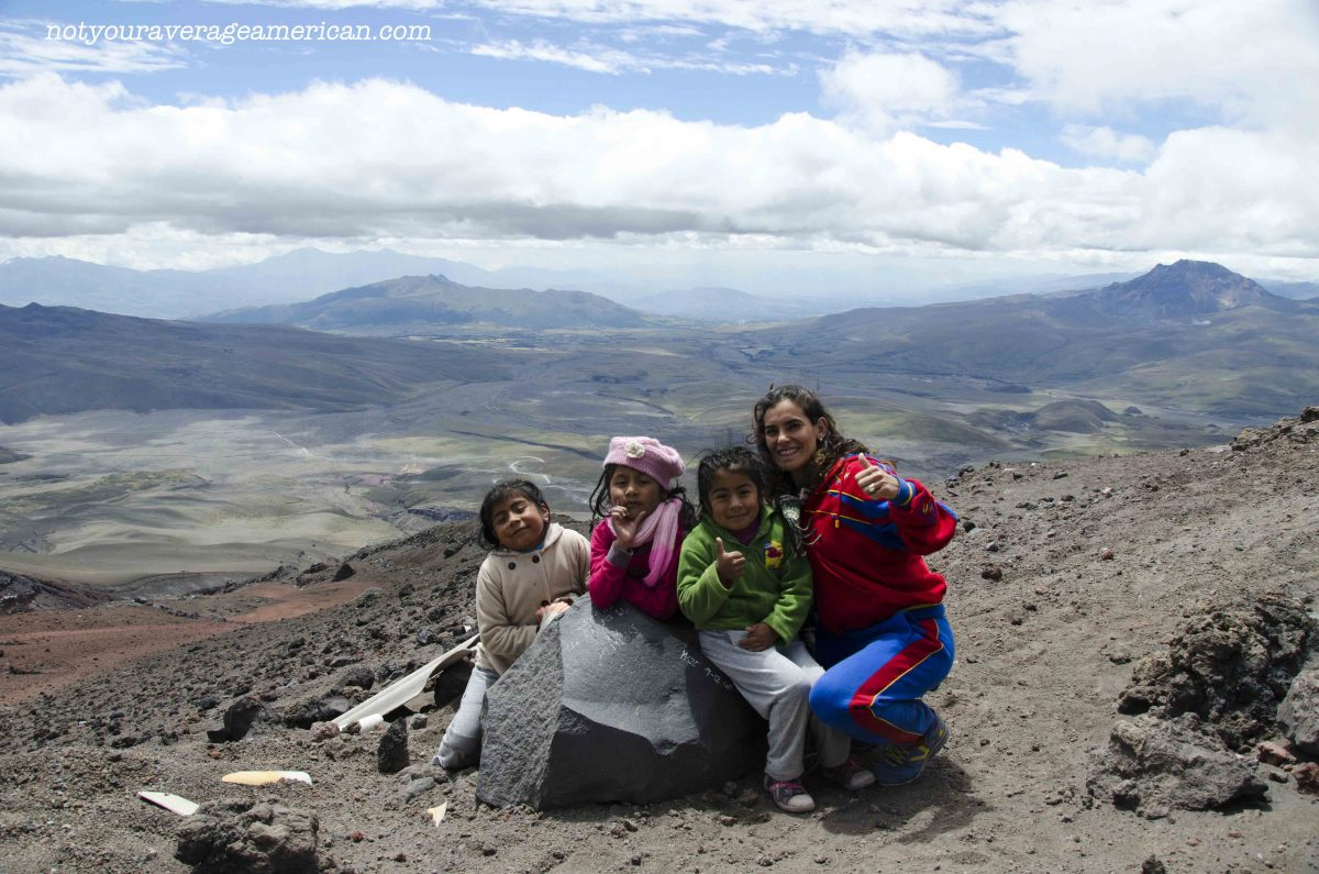 Locals from Machala, Cotopaxi National Park, Ecuador | ©Angela Drake