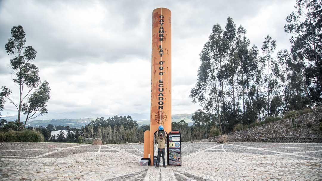 Quisato Sundial; Buena Esperanza, Cayambe, Ecuador | ©Angela Drake