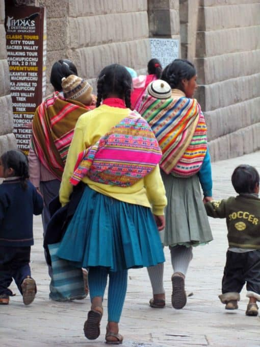 Locals in Cuzco, Peru | ©Angela Drake