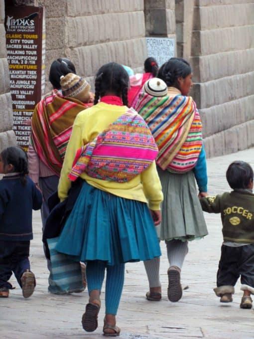 Locals in Cuzco, Peru   ©Angela Drake