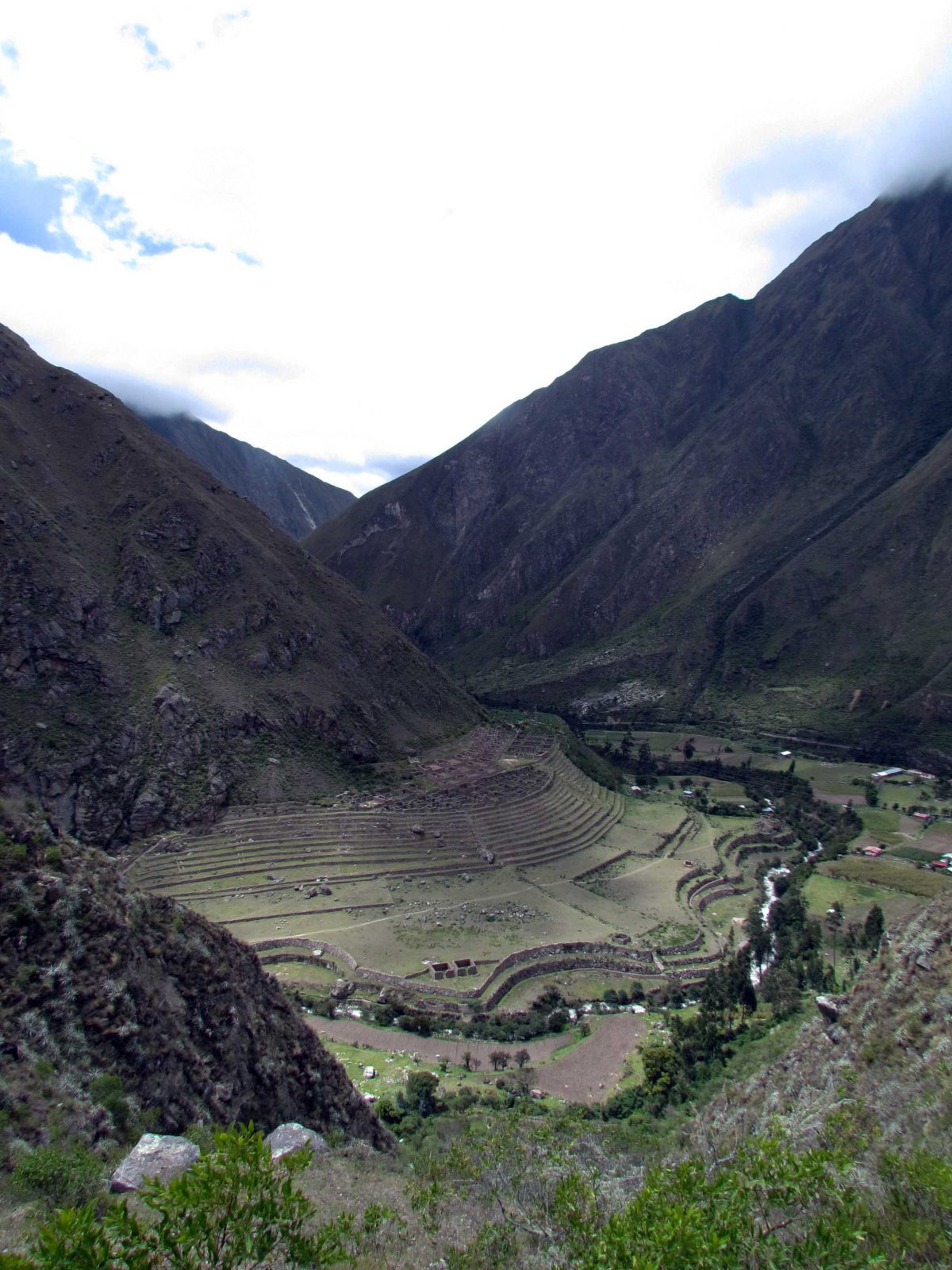 View of Llactapata, Inca Trail, Peru | ©Angela Drake