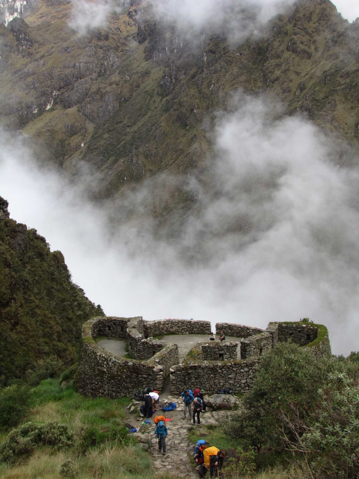 View of Runkurakay, Inca Trail, Peru | ©Angela Drake