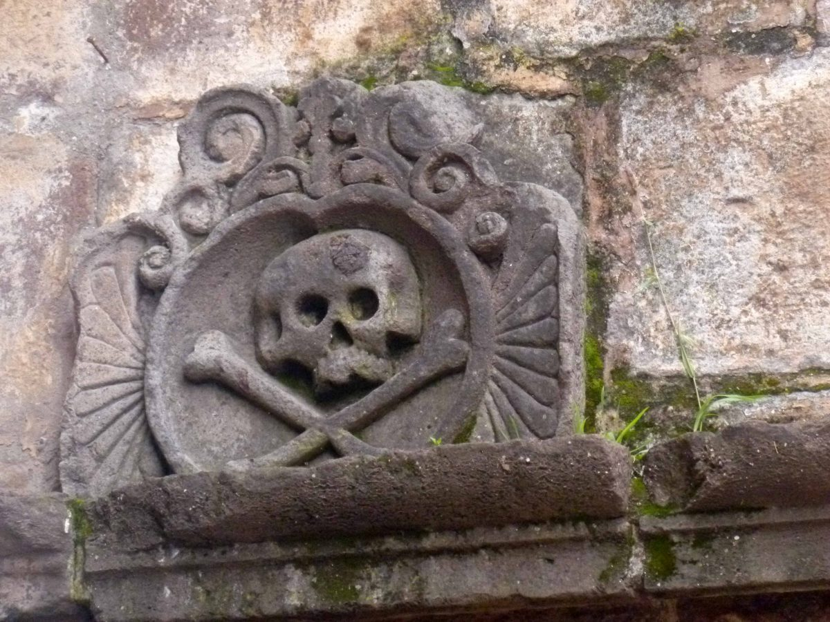 Stone lintel near the Cusco Cathedral; Peru | ©Angela Drake
