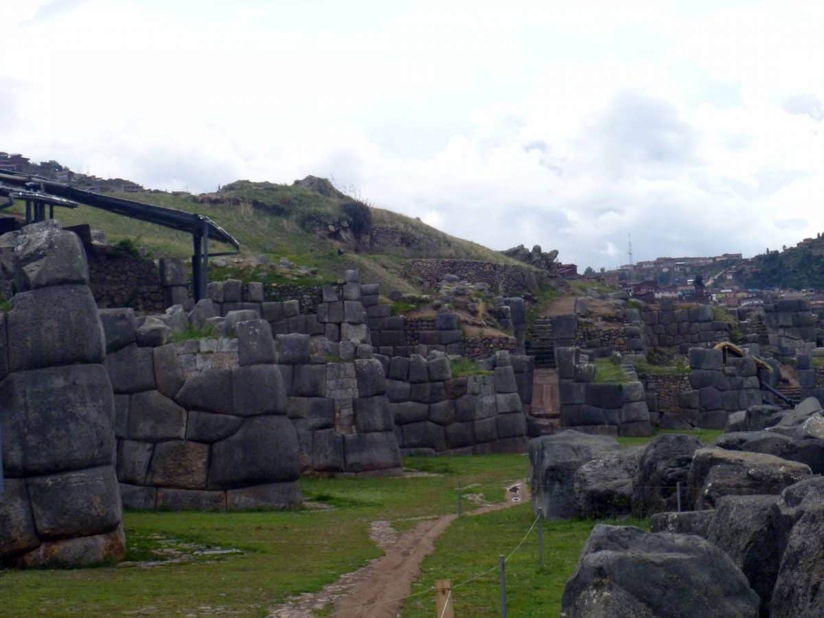 Some of the many walls of Saqsayhuamán, Cusco, Peru | ©Angela Drake