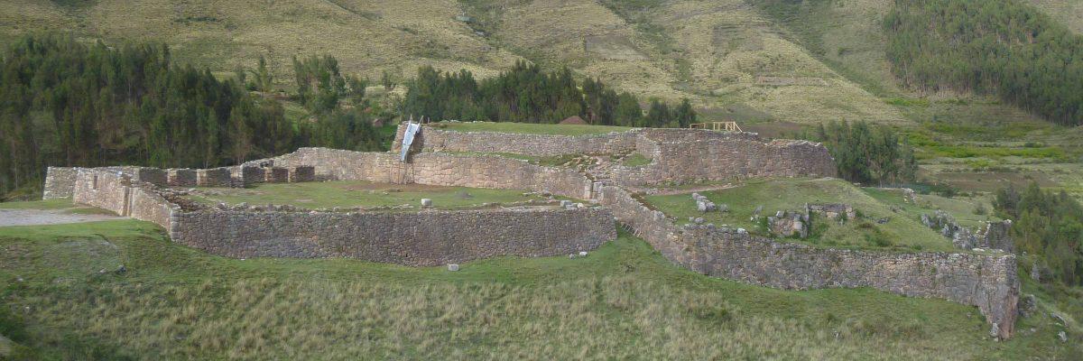 View of Puca Pucara; Cusco, Peru   ©Angela Drake