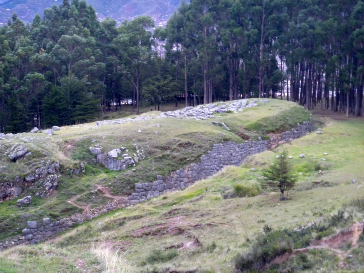 Site of Q'engo, Cusco, Peru   ©Angela Drake
