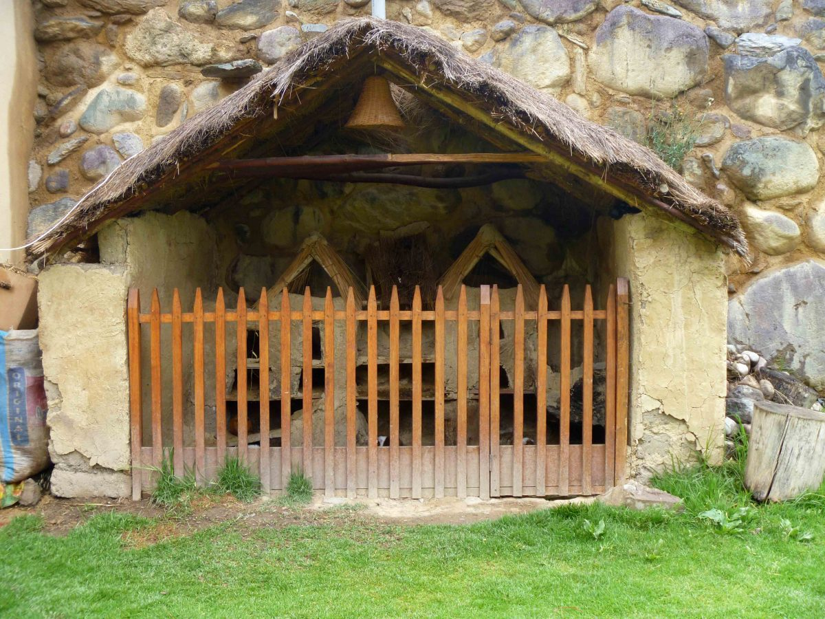 A guinea pig hutch in Peru