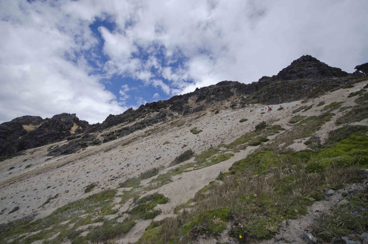 Scree Field on Rucu Pichincha, Quito, Ecuador | ©Angela Drake