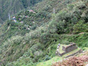 View of Camp Wiñaywayna