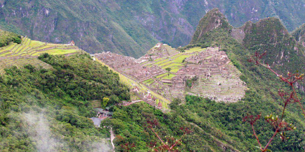 View of the Machu Picchu Complex