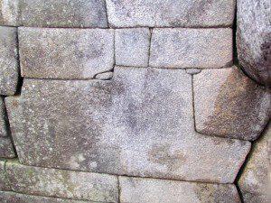 The smallest stone in Machu Picchu
