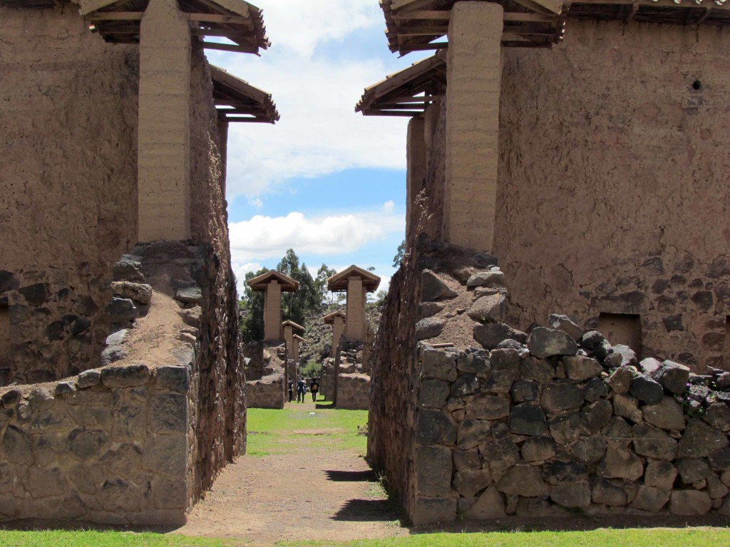 The walls of the Temple of Wiracocha.