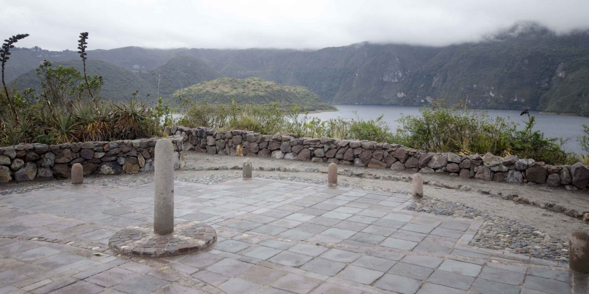 A Reconstructed Sun Calendar, Laguna Cuicocha, Ecuador