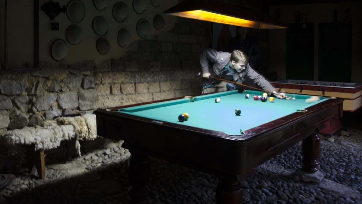The Pool Table, The Posada Ingapirca, Cañar Province, Ecuador