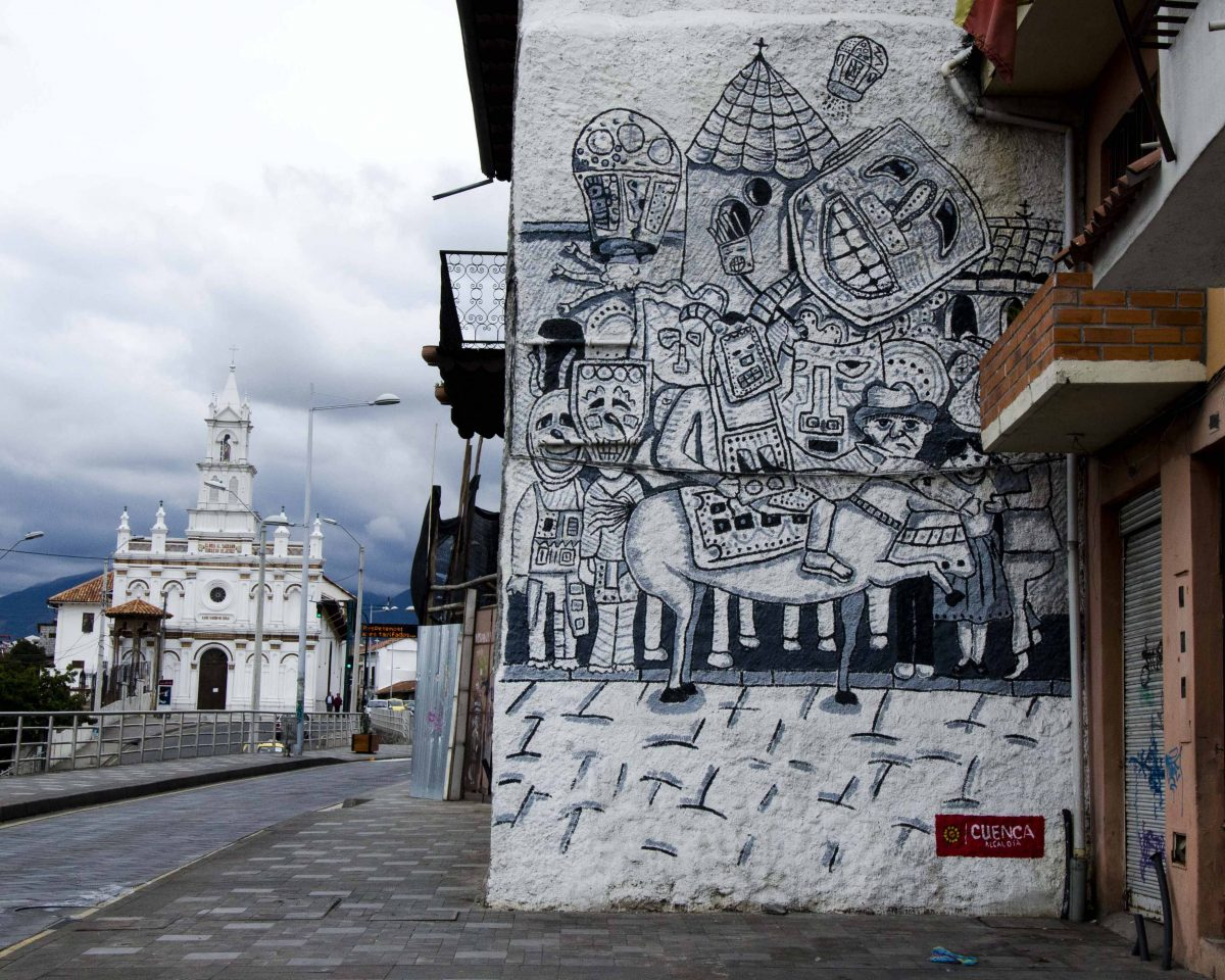 Street Art, Cuenca, Ecuador