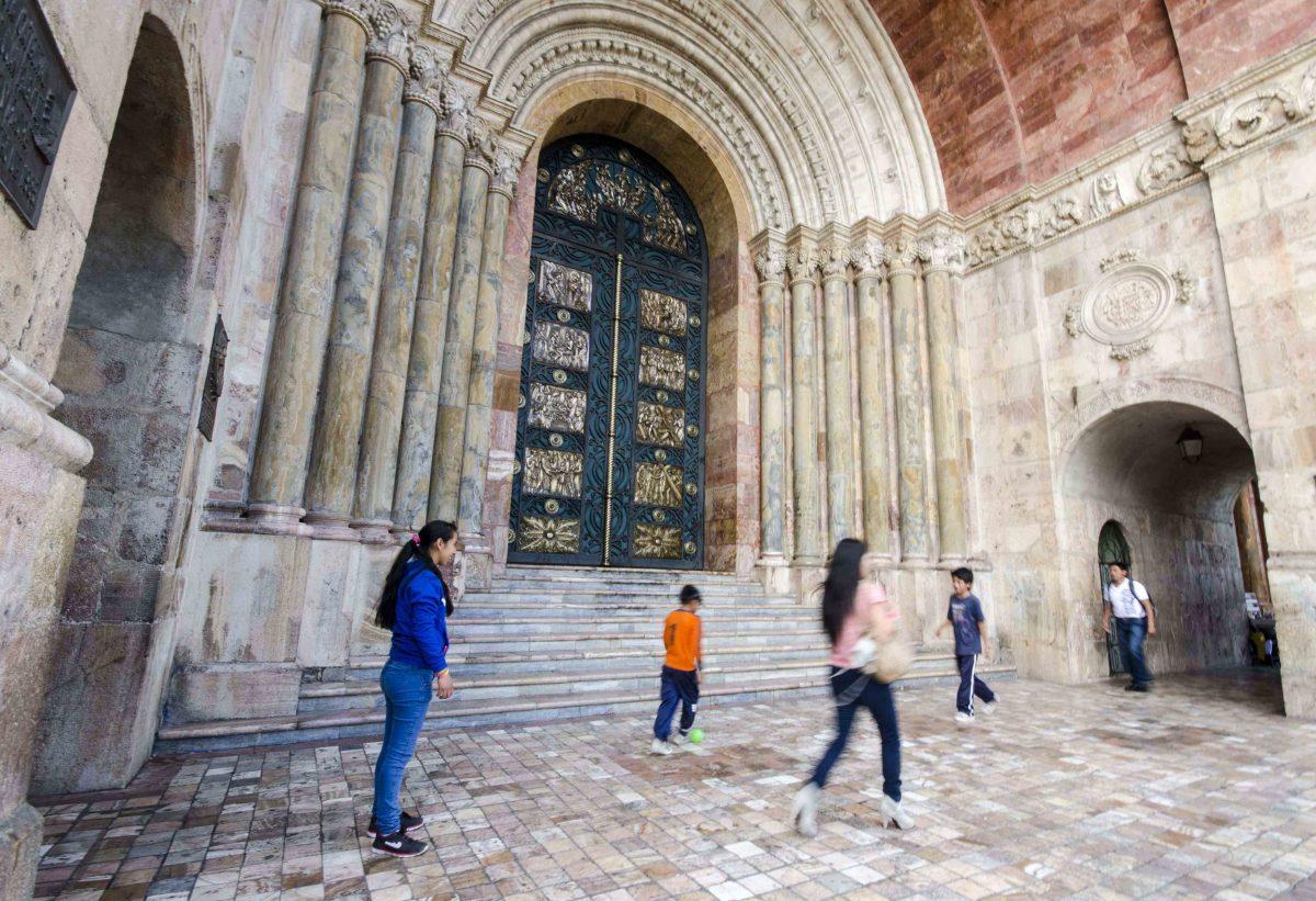 The Entryway, the New Cathedral, Cuenca, Ecuador