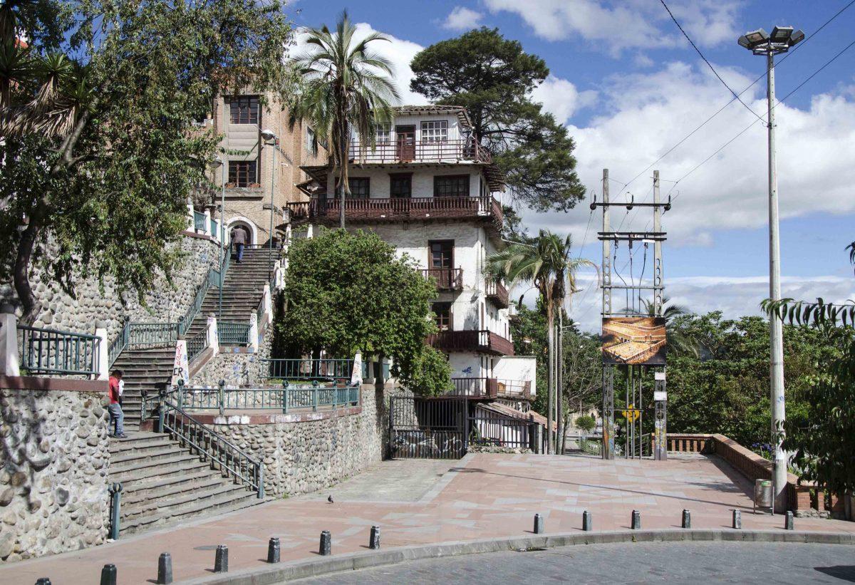 Just above Puente del Centenario, Cuenca, Ecuador