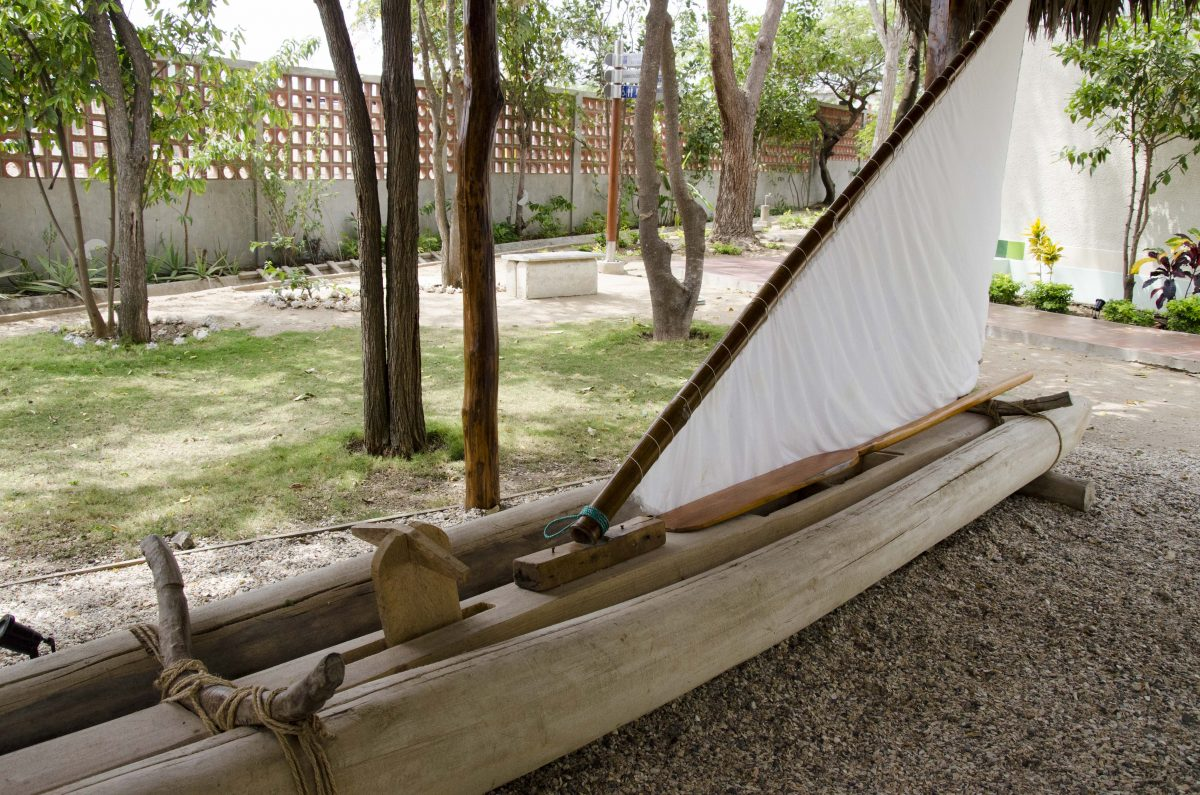 Ocean-going Canoe, Museo Amantes de Sumpa, Santa Elena, Ecuador