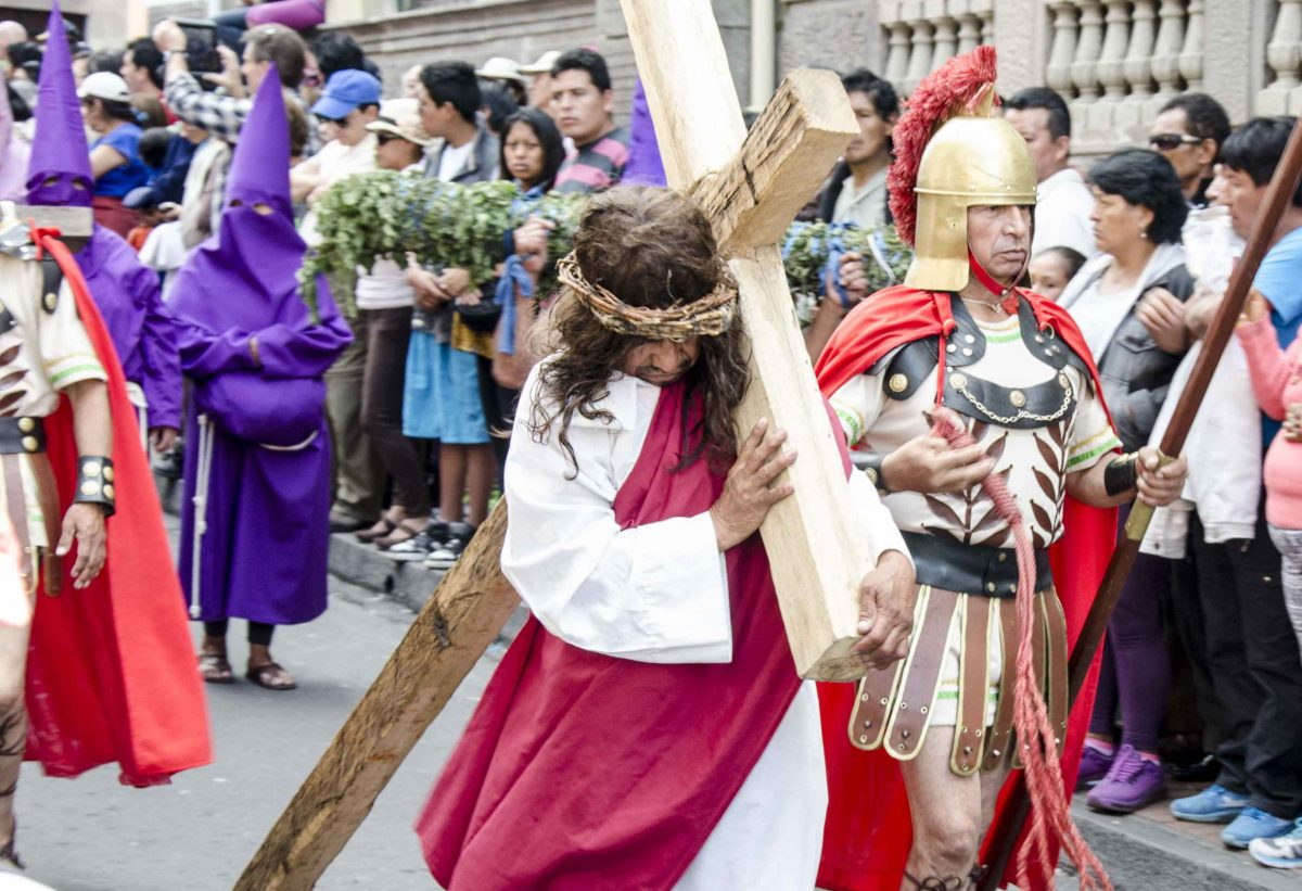 Celebrating Easter in Quito, Ecuador