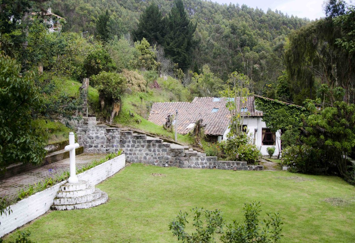 Garden, San Jorge Eco Lodge, Quito