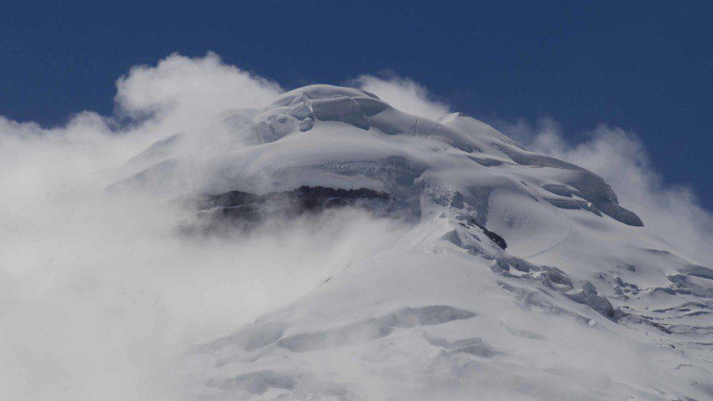 The Volcano Cotopaxi