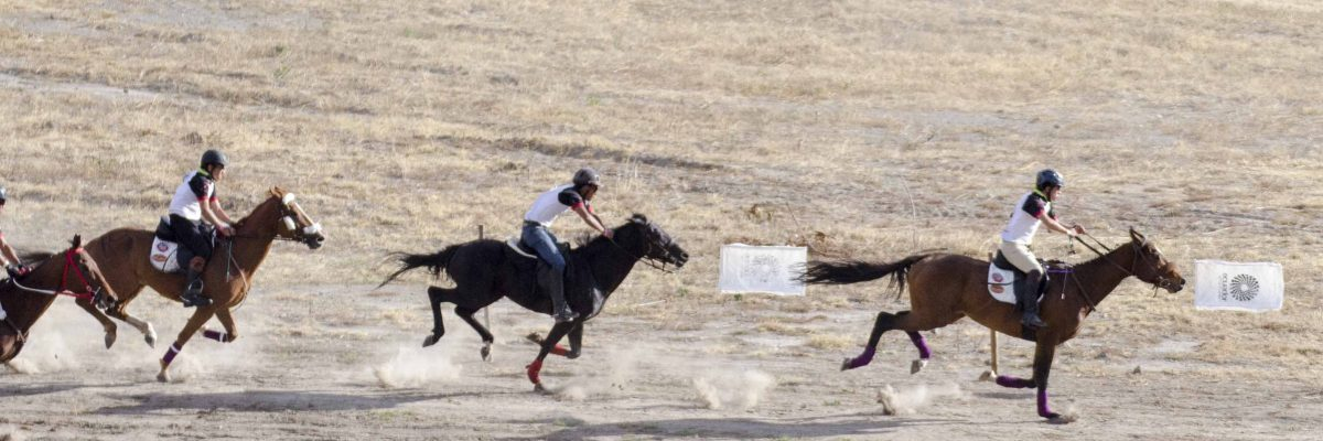 Hunters in the Youth Race at the Cacería del Zorro | ©Angela Drake