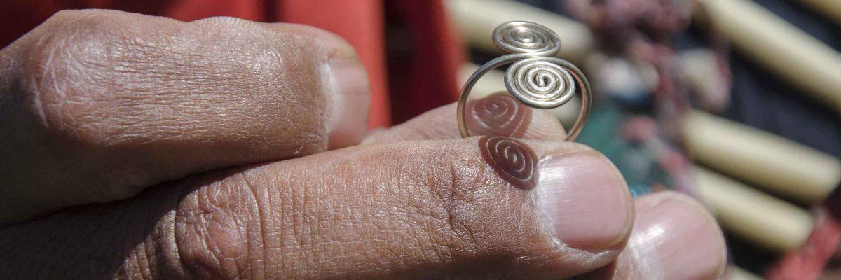 Jewelry, Lobo Oso Chillon Carva