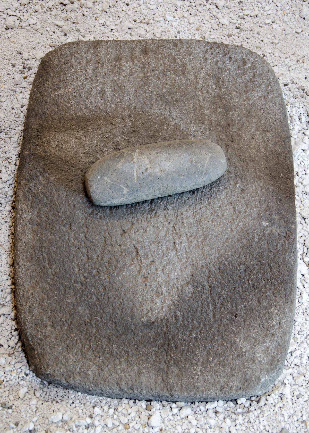 Grinding Stone, Cochasquí, Ecuador | ©Angela Drake / Not Your Average American