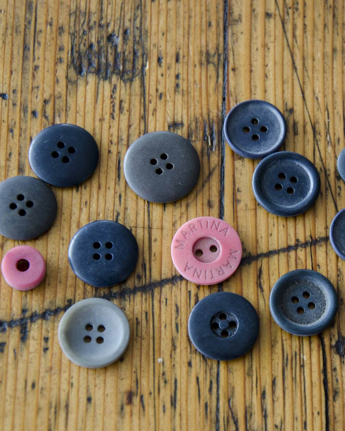 Buttons made from Tagua