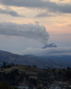 Volcano Tungurahua; October 2015