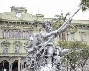 Neptune in Riobamba