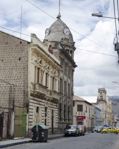 Clock Tower in Riobamba