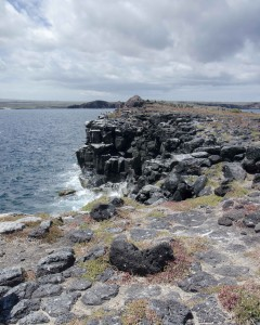 Rocky Cliffs, South Plaza Island, the Galapagos