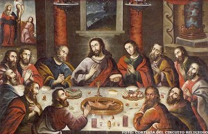 The Last Supper, with Cuy