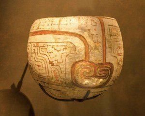 Pottery from Casa del Alabado