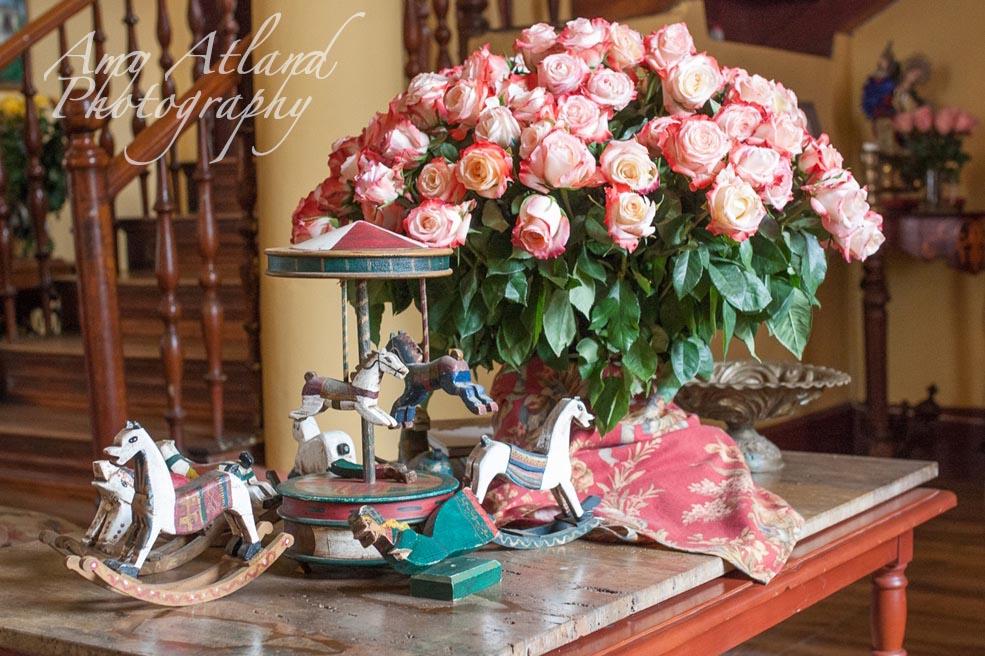 Interior of the Rose Hacienda