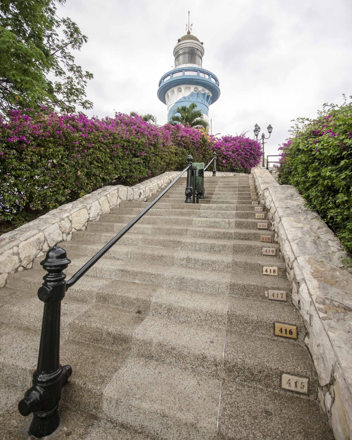 The Lighthouse in Guayaquil, Cerro Santa Ana