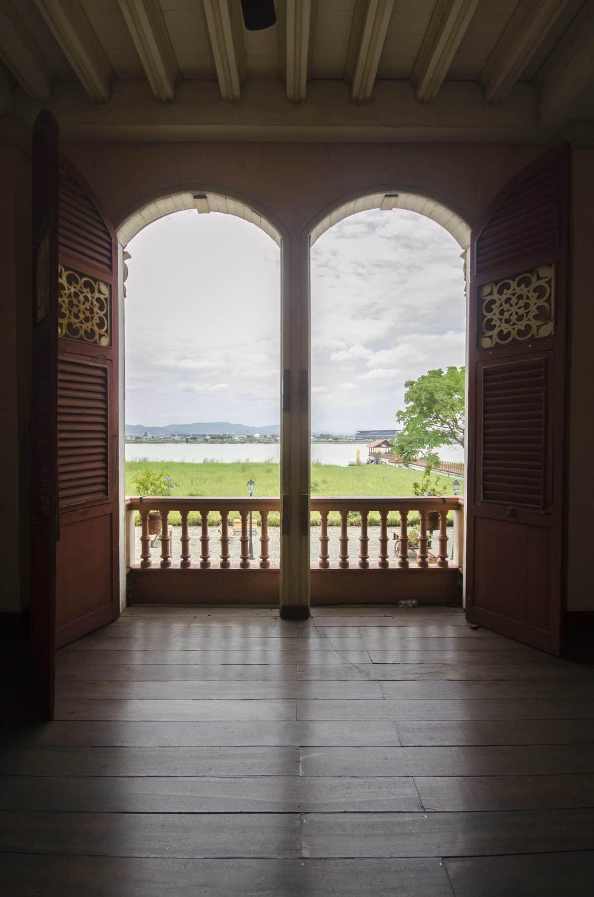 View from Historic Building, Parque Histórico, Guayaquil, Ecuador.