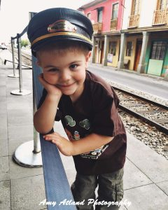 Playing Train Conductor